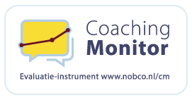 cliëntvolgsysteem: coaching monitor logo